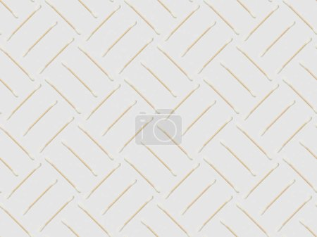 Photo for Ear sticks on grey background, seamless background pattern - Royalty Free Image