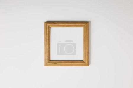 Photo for Blank square frame on white background - Royalty Free Image