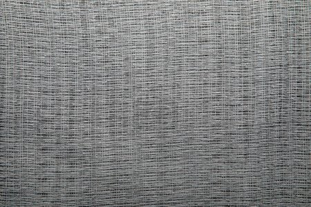 Photo for Top view of background made of textured grey sackcloth with copy space - Royalty Free Image