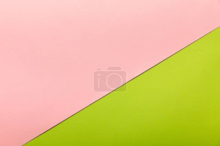 birght pink and green background with copy space