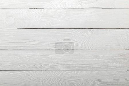 Foto de White natural textured wooden background with copy space - Imagen libre de derechos