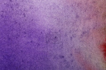 Photo for Purple colorful watercolor paint spill on textured background - Royalty Free Image