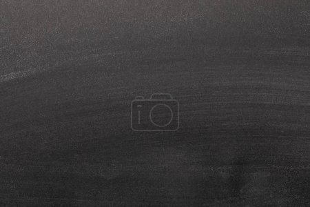 Photo for Top view of black textured background with copy space - Royalty Free Image