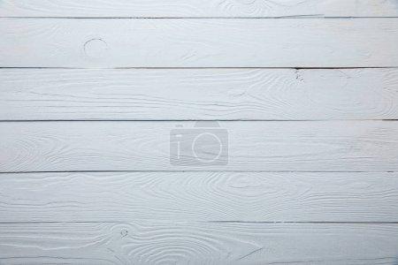 vista superior de fondo texturizado de madera blanca con espacio de copia