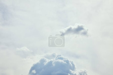 Photo for Blue sky with white clouds and copy space - Royalty Free Image