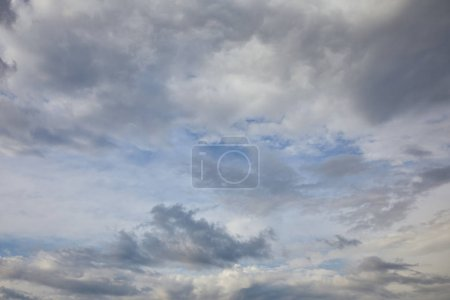 Photo for White clouds on blue sky background - Royalty Free Image