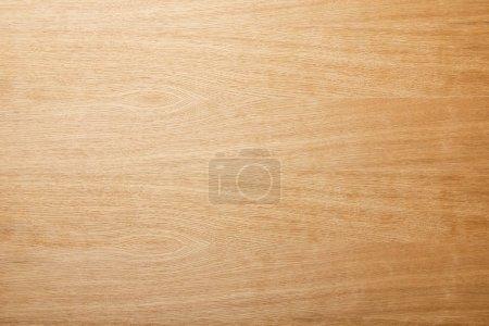 Foto de Vista superior de la superficie de madera beige vacía con espacio de copia - Imagen libre de derechos