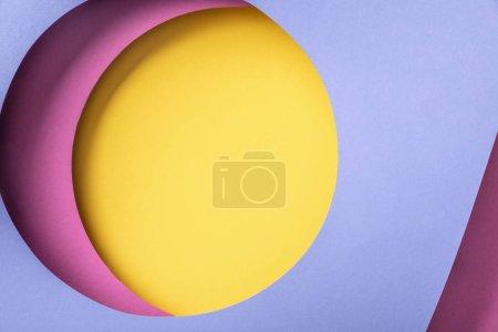 Foto de Creative paper background with bright colorful holes - Imagen libre de derechos