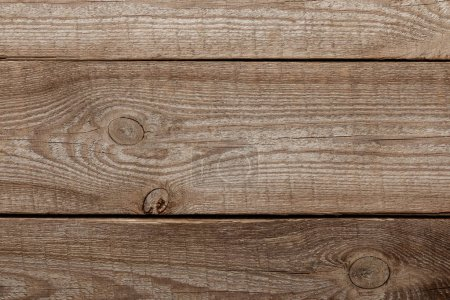 Photo for Top view of wooden textured background with copy space - Royalty Free Image