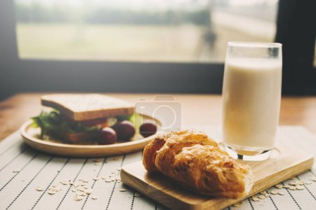 Photo for Eating and traditional breakfast concept - Royalty Free Image