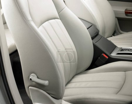 Photo for Closeup of modern car interior details - Royalty Free Image