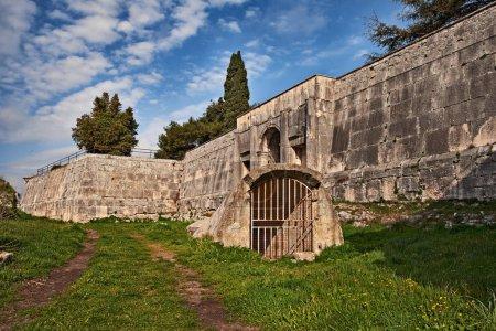 Pula, Istria, Croatia: the ancient Venetian Kastel, military fortress built between 1630 and 1633