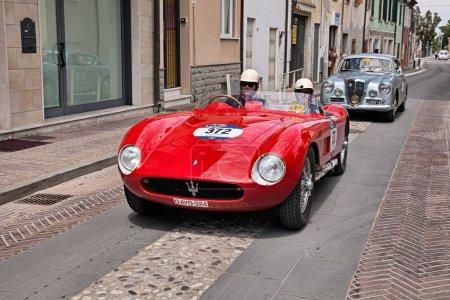 vintage racing car Maserati 150