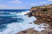 Rough seas by Waverley