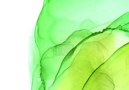 Photo pour Fond abstrait couleur. Texture d'art moderne. Encre, peinture, aquarelle - image libre de droit