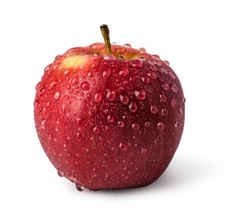 Photo for Apple fruit isolated on white background - Royalty Free Image