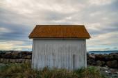 Point Wilson Lighthouse in Fort Worden State Park, Port Townsend, Washington