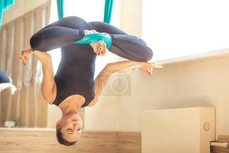 yoga practitioner calming the mind and strengthening the body
