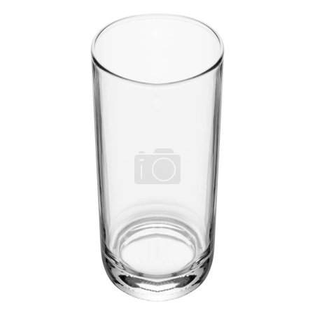 Photo for Empty glass isolated on a white background - Royalty Free Image