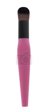 make up brush powder blusher isolated