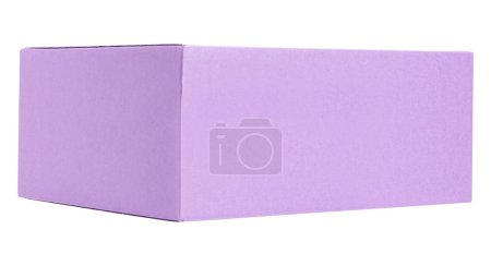 Cardboard box isolated on background