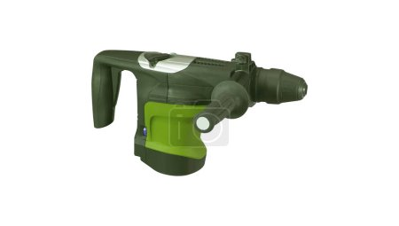 electric drill isolated on white