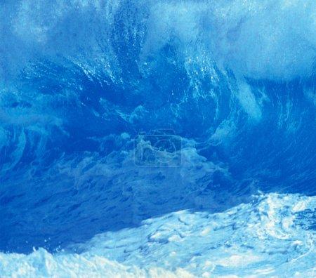 Big Ocean Wave, amazing marine background