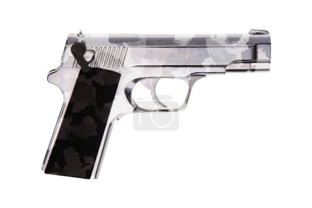 automatic 9mm handgun pistol