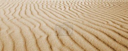 Endless desert sands, nature background
