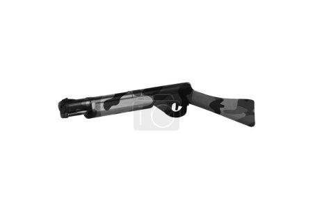 rifle isolated on white background