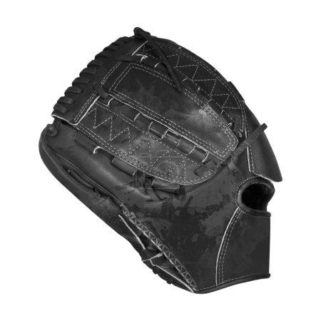 Photo pour Gant de baseball isolé sur fond blanc - image libre de droit