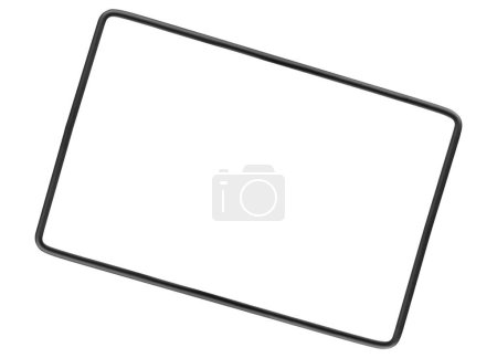 metal frame isolated on white