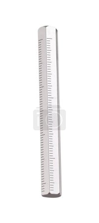 a ruler isolated on white