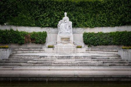 Monument of empress Elisabeth of Austria in Volksgarten Vienna (Austria), constructed in 1907