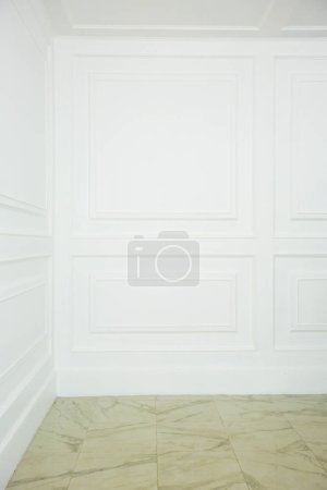 Photo for Living room interior design with elegant wall decorations - Royalty Free Image