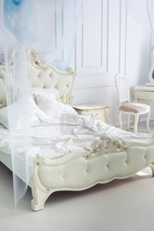 Photo for Luxury rich interior design with elegant vintage furniture - Royalty Free Image