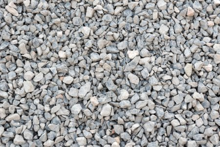 Crushed stone, gravel texture and background.