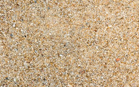 Rough sand pebbles texture and background.