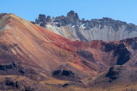 Photo pour Volcan Cerro Tunupa, Potosi, Bolivie - image libre de droit