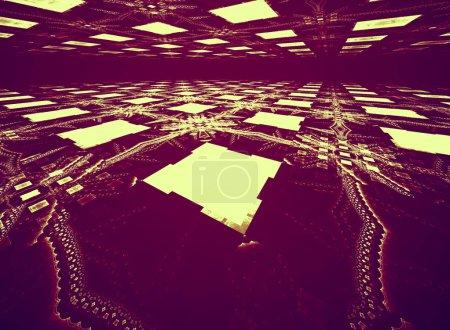 Energy, fractal modern background for modern design