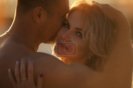 Photo for Romantic couple in love - Royalty Free Image
