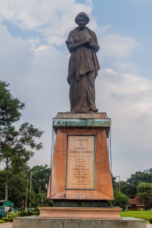 Indira Gandhi monument in Kolkata