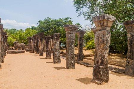 Temple de Nissanka Malla à l'ancienne ville de Polonnaruwa, au Sri Lanka