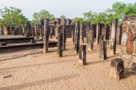 Buddha Seema Prasada (Baddhasima Prasada) in the ancient city Polonnaruwa, Sri Lanka