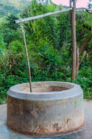 Brunnen in der Nähe von inle lake, myanmar