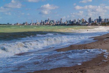 Photo pour Skyline de Joao Pessoa, Brésil - image libre de droit