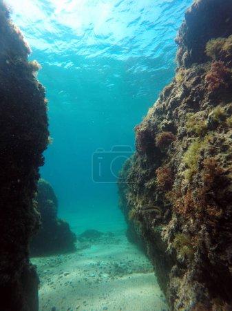blau, hintergrund, stein, reise, sommer, natur - B283822036