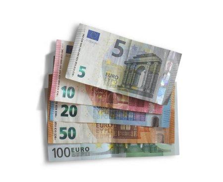 colore, bianco, sfondo, soldi, carta, isolate - B286753416