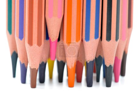 Photo for Colorful pencils close up - Royalty Free Image