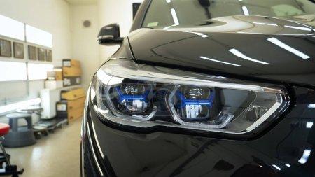 Car in garage, service, car salon....